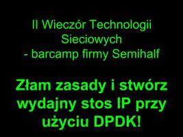 II Wieczór Technologii Sieciowych