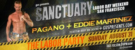 SANCTUARY | Labor Day Wknd SF