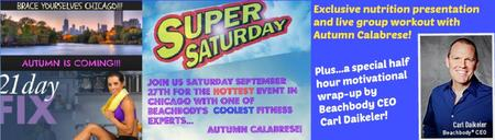 Team Beachbody Super Saturday