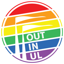 Out in UL logo