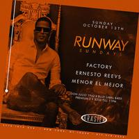 Runway Sundays @Brasier.nyc ~ DJs Factory + Ernesto...