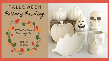 Falloween Pottery Painting Tickets, Sun, Oct 6, 2019 at 2:00