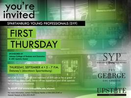 SYP First Thursday Sponsored by USC Upstate Alumni and ...