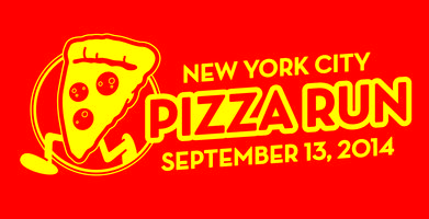 2014 NYC Pizza Run