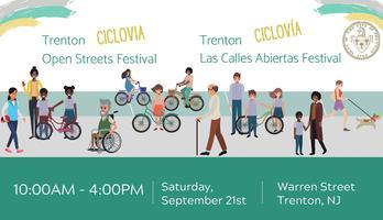 Ciclovia Paint Our Pride Event