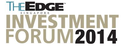 The Edge Singapore Investment Forum 2014