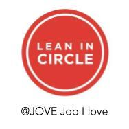 Jove • A Lean In Circle about the JobILove logo