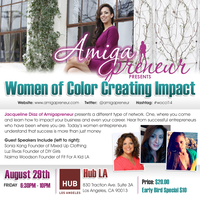Women of Color Creating Impact