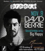 David Berrie @ Monroe Friday November 9th 2012