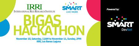 IRRI and SMART present: BIGAS Hackathon