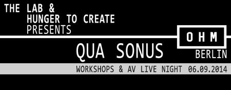 Qua Sonus presented by The Lab & Hunger to Create