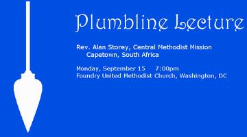 Plumbline Lecture: Rev. Alan Storey
