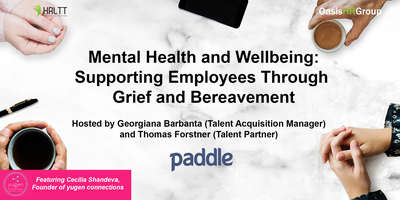HRLTT - Mental Health and Wellbeing: Supporting...
