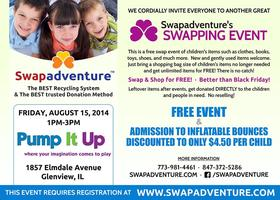 Swapadventure and Pump It Up