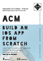 ACM Build an iOS App from Scratch Workshop