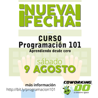 Curso Programación 101 - Programando desde cero