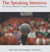 The Speaking Intensive November 2014