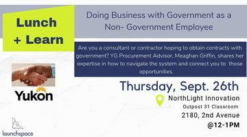 Lunch and Learn: Doing Business with Government as a...
