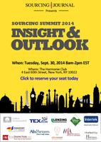 Sourcing Journal Presents: Sourcing Summit 2014...