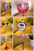 WINE GLASS PAINTING at Girls Night Out at Latitude 360