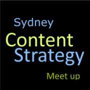 Sydney Content Strategy Meetup logo