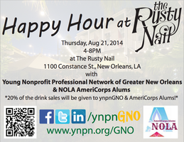 Happy Hour with ynpnGNO and NOLA AmeriCorps Alums!