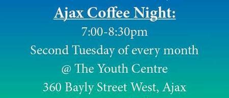 PFLAG Durham Region's Coffee Night Ajax - All Welcome