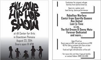 All Love Hip Hop Benefit Show