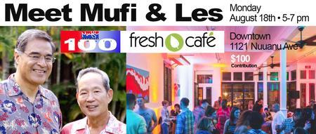 Meet Mufi & Les @ Fresh Cafe Downtown