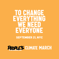 People's Climate March/ Bus Trip from Lancaster,PA to...