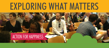 The Action for Happiness Course - Hackney (8 week...