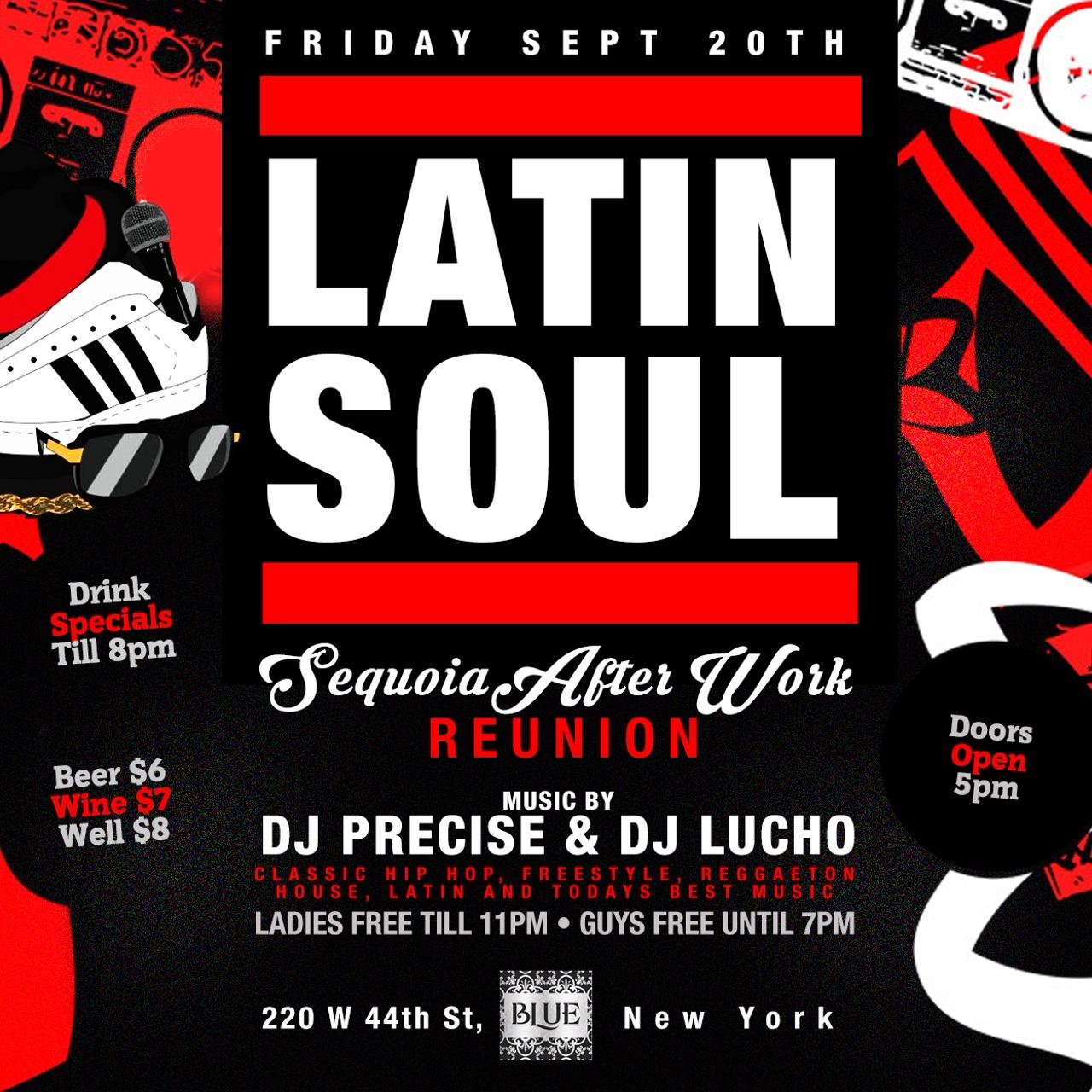 Latin Soul - afterwork party at Blue Midtown
