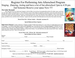 Amana Academy Performing Arts/ Afterschool Program Series