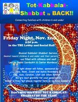 Tot Kabbalat Shabbat - First one Back!