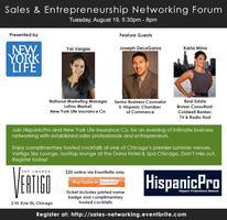 Sales & Entrepreneurship Networking Forum presented by...