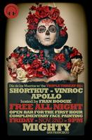 Día de los Muertos w/ the Triple Threat DJs - FREE ALL...
