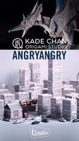 Kade Chan Origami Studio X Angryangry 聯乘展出「摺紙獸突襲紙盒城」
