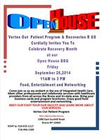 Open House Recovery Month BBQ