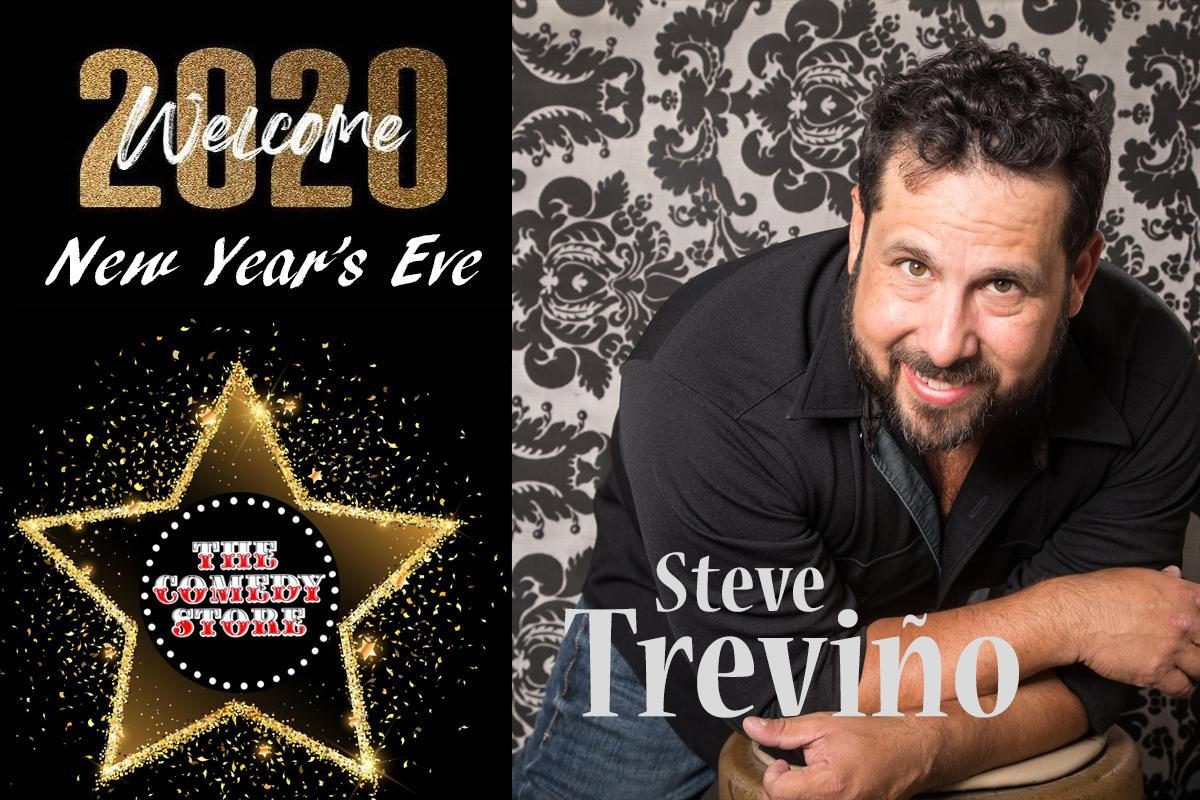 NYE with Steve Trevino  7:30 pm
