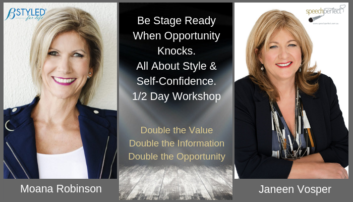 ONLINE Styling and Professional Presenting Training for Stage and on Camera