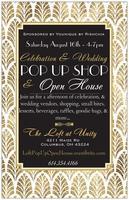 Celebration & Wedding POP UP SHOP & OPEN HOUSE!!