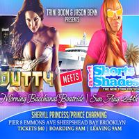 """THE MORNING BACCHANAL BOATRIDE """"DUTTY MEETS SHORTS &..."""