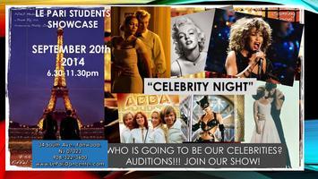 "Students showcase ""Celebrity night"""