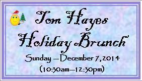 NJ Buddies' - Tom Hayes Holiday Brunch