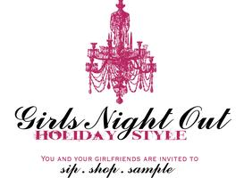 GIRL'S NIGHT OUT ~HOLIDAY STYLE! PARTYLITE BLACK/WHITE...