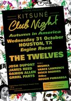 The Twelves, Kitsune America Tour and Halloween