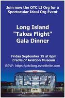 "LI ""Takes Flight"" Dinner Gala! September 19, 2014"
