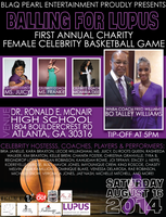 """1st Annual """"BALLING FOR LUPUS"""" Female CELEBRITY..."""