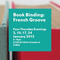 Bookbinding: French Groove