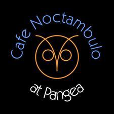 Cafe Noctambulo at Pangea logo
